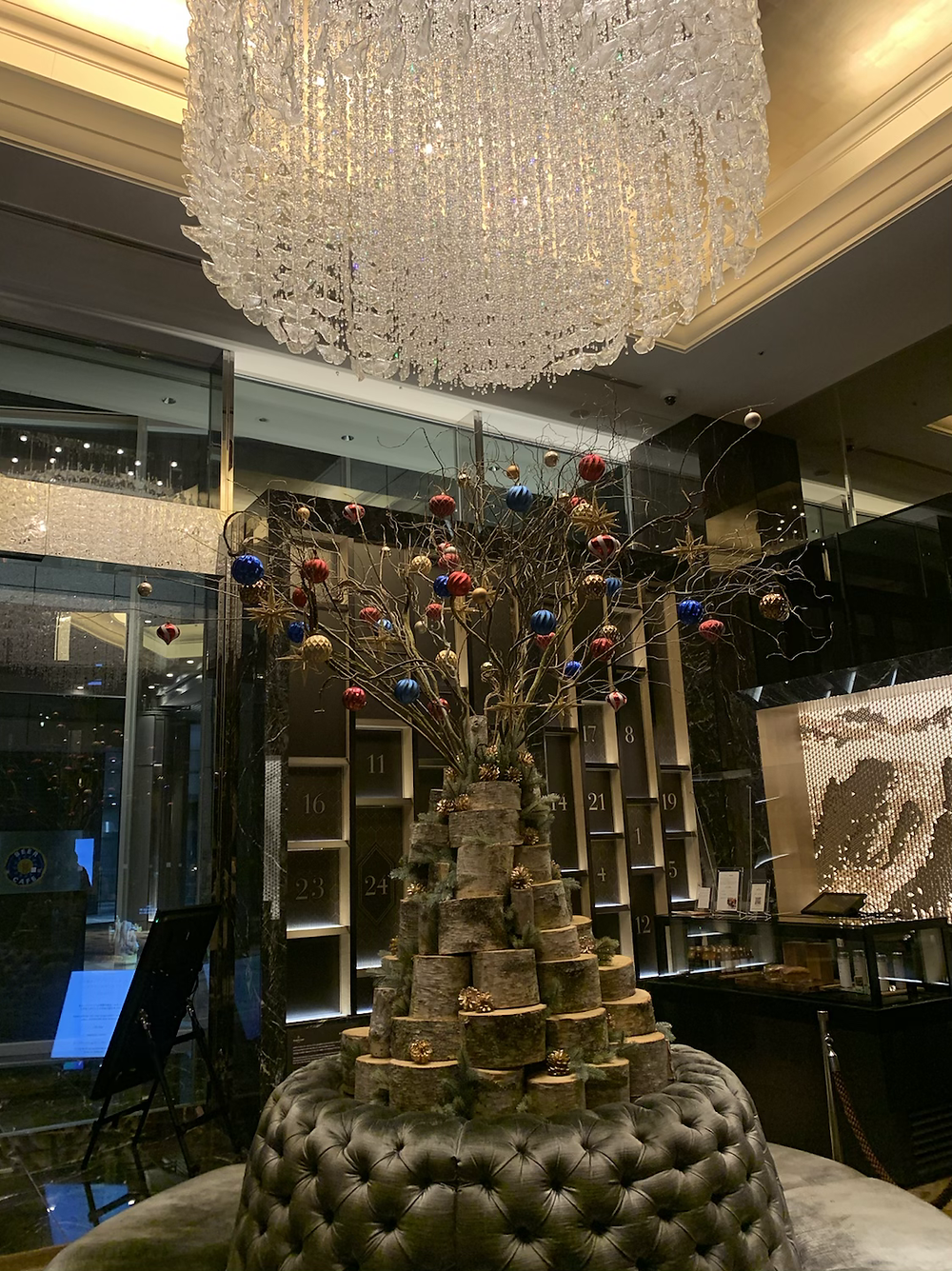 シャングリ・ラホテル東京のロビーの様子