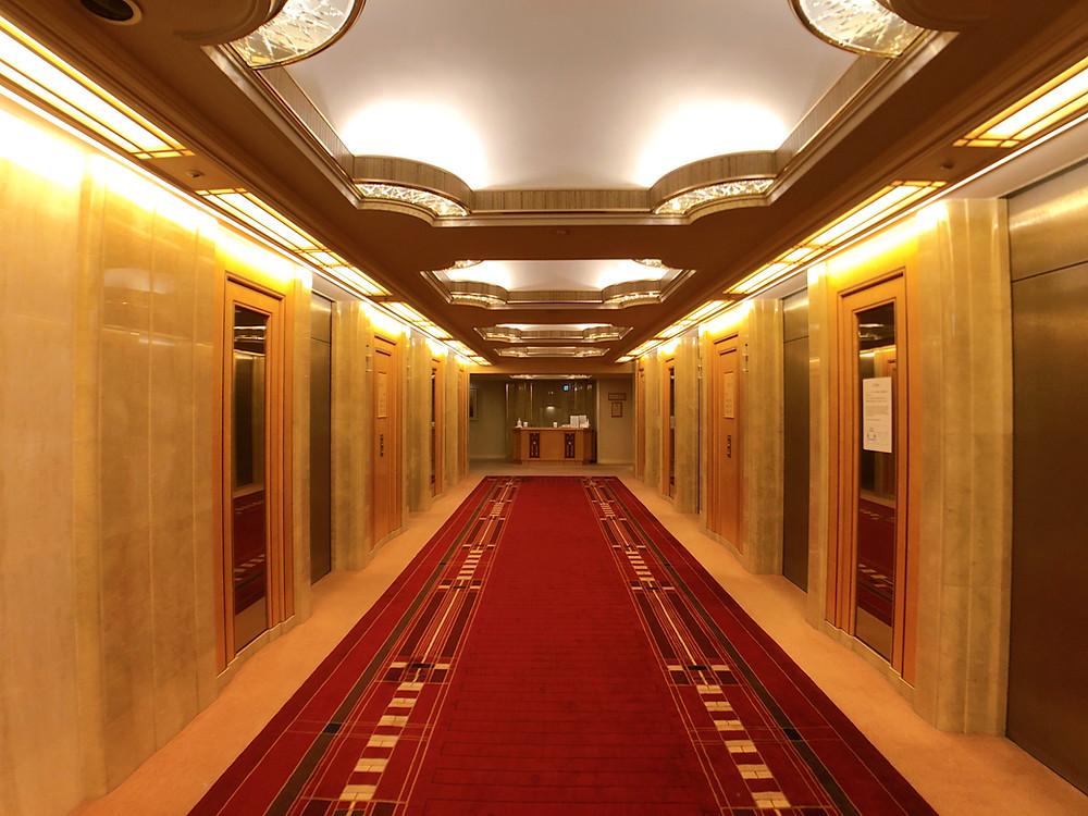 帝国ホテル東京のインペリアルフロアの様子