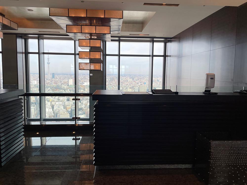 マンダリンオリエンタル東京 ロビーからの眺め