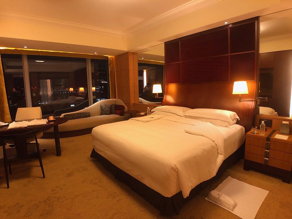 シャングリ・ラ ホテル東京のデラックスインペリアルガーデンビュールーム