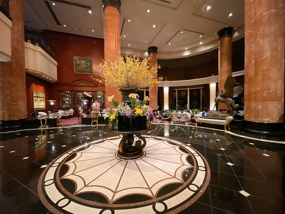 ウェスティンホテル東京の装花の様子