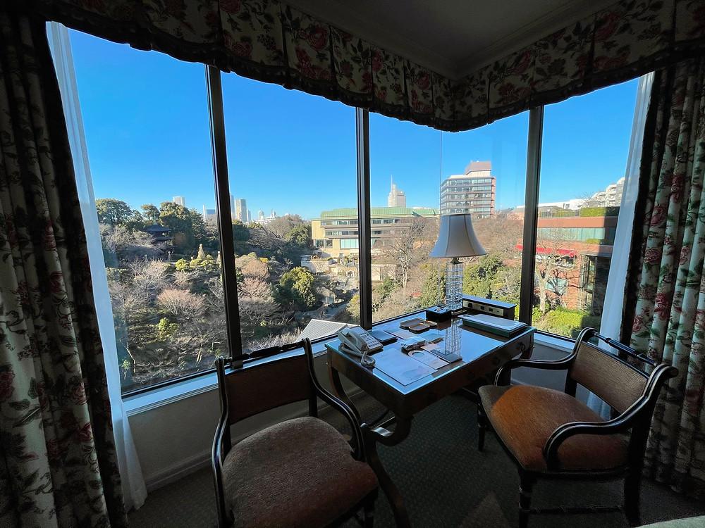 ホテル椿山荘東京のプライムエグゼクティブスイート(ガーデンビュー)の眺望