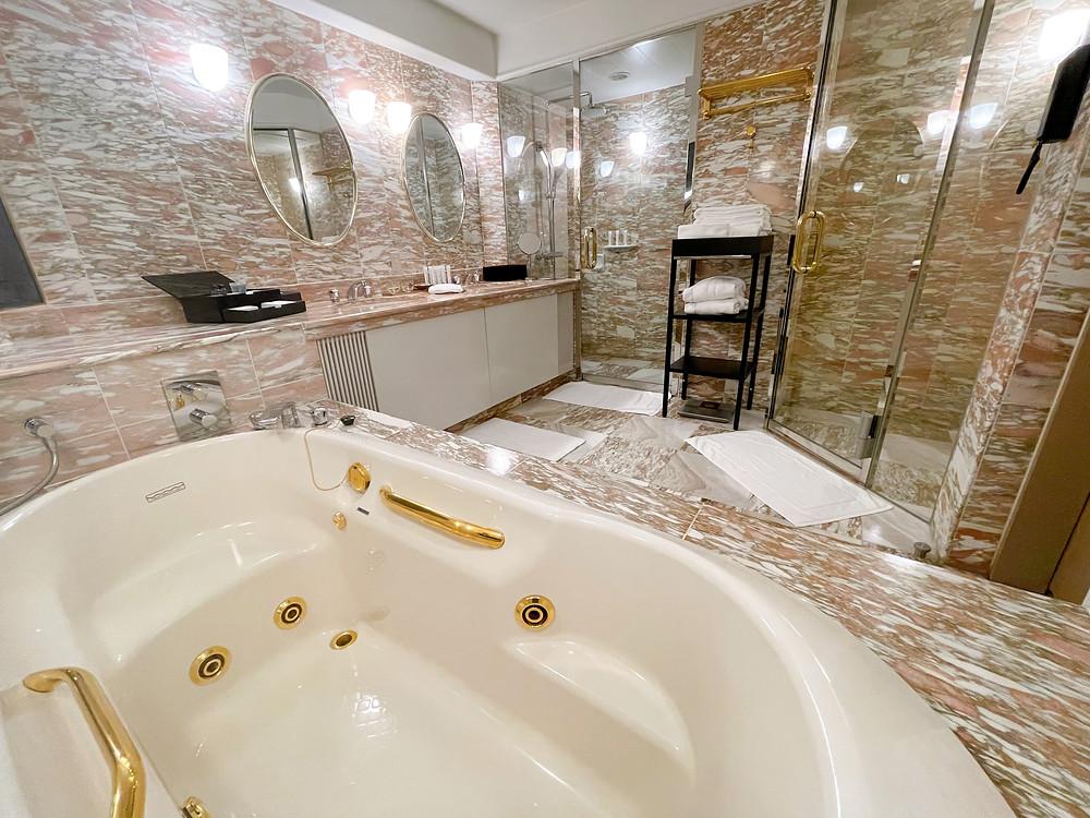 雅叙園のバスルーム