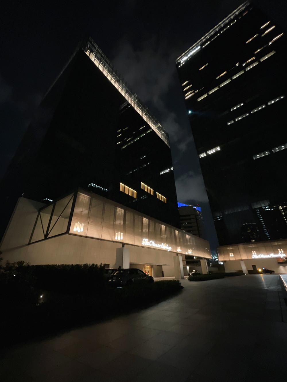The Okura Tokyoのヘリテージウィングの外観