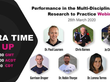 Performance in the Multi-Disciplinary Team: Research to Practice
