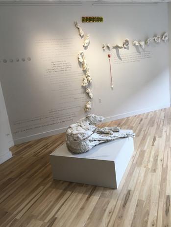 Listen  - installtion photo from Alluvium Gallery