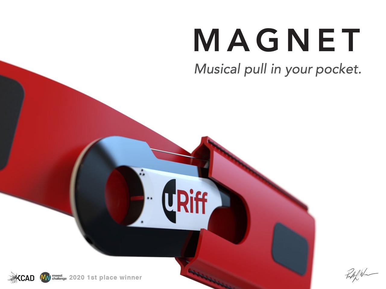 uRiff Magnet 1st place winner