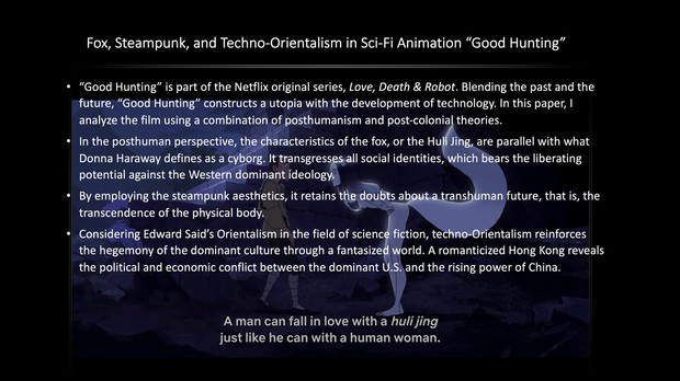 """Fox, Steampunk, and Techno-Orientalism in Sci-Fi Animation """"Good Hunting"""""""