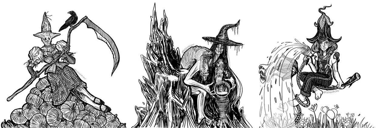 Seasonal Witches