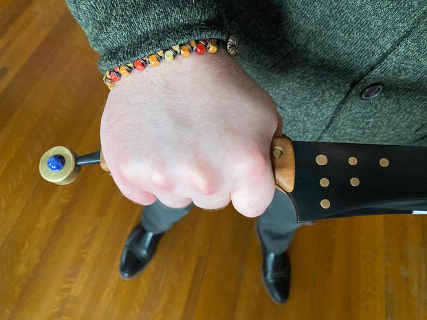 Grasping Sword Handle