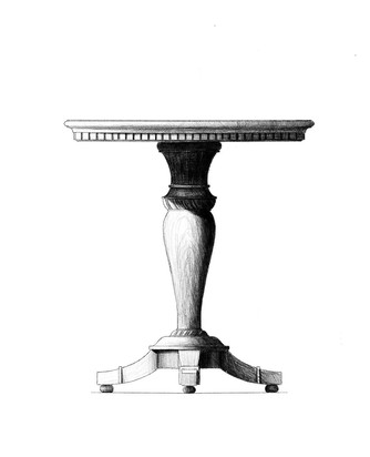 Pedestal Table Design