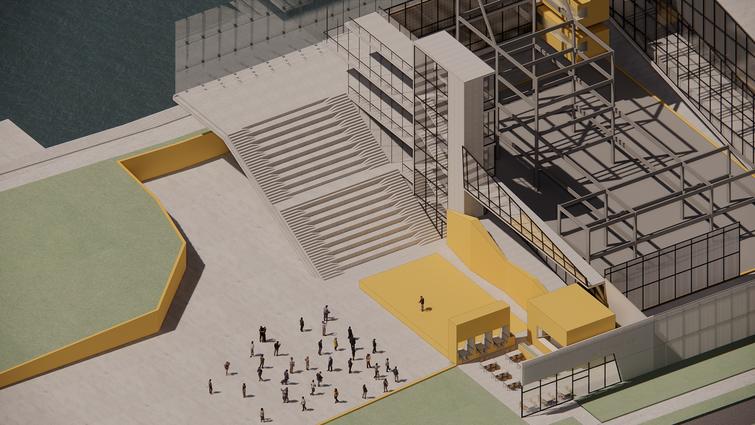 AXON - Interior Amphitheater