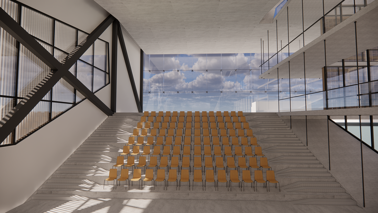 Perspective - Interior Theater