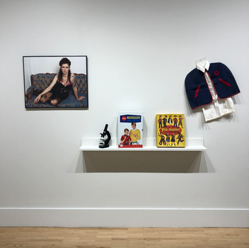 JJ Levine and Works on loan from the Museum of Sexist Objects