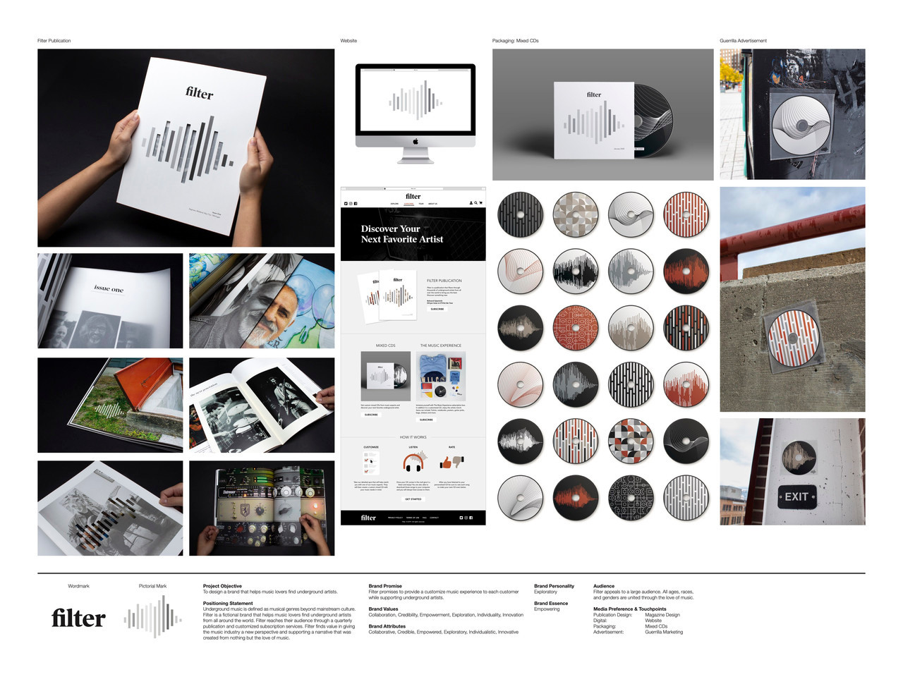 Filter Integrated Branding Campaign