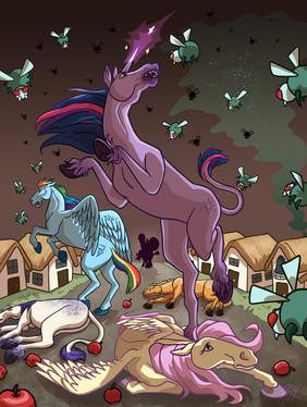Parasprites and Ponies