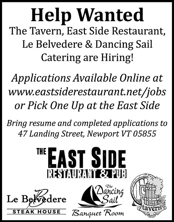 Jobs, Newport, East Side, Restaurant, Hiring,