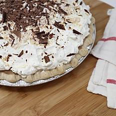 Chocolate Peanut Butter Cream Pie
