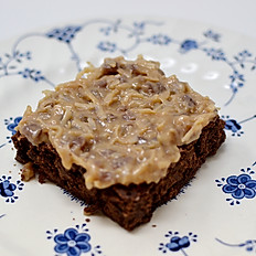 Brownie with German Chocolate