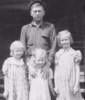 Harry with daughters Martha, Rosie, & Pattyg