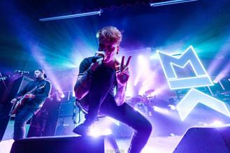 Mallory Knox - Homecoming Tour 2015 - Photo By Ian Taylor