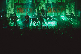 Neck Deep - The Peace And The Panic Tour 2017 - Photo By Elliot Ingham