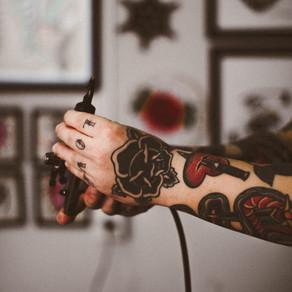 Tattoo Time by John Grey