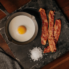 Bacon and Eggs by Gabrielle McAree