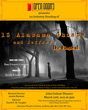 Industry Reading, 13 Alabama Ghosts and Jeffrey, the Musical
