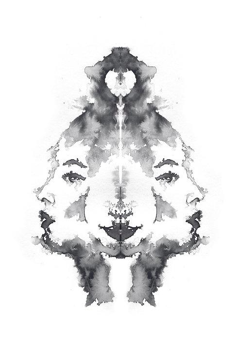 Faces VII | print