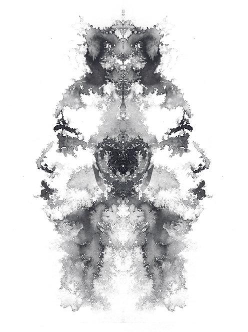Faces VI | print