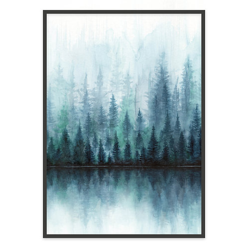 A FOREST   PRINT