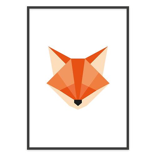 GEOMETRIC FOX | PRINT