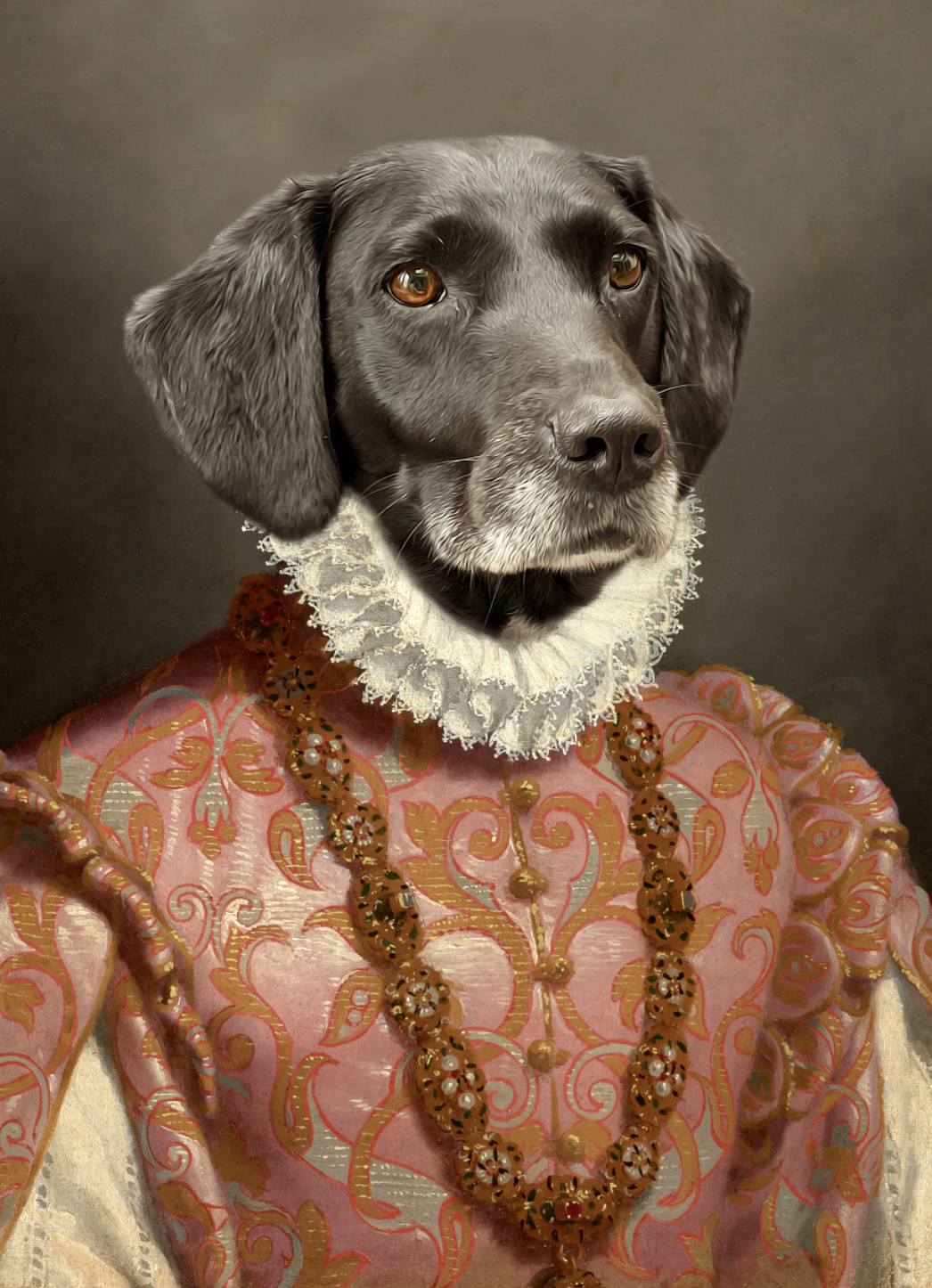 Princess Royal pet portrait