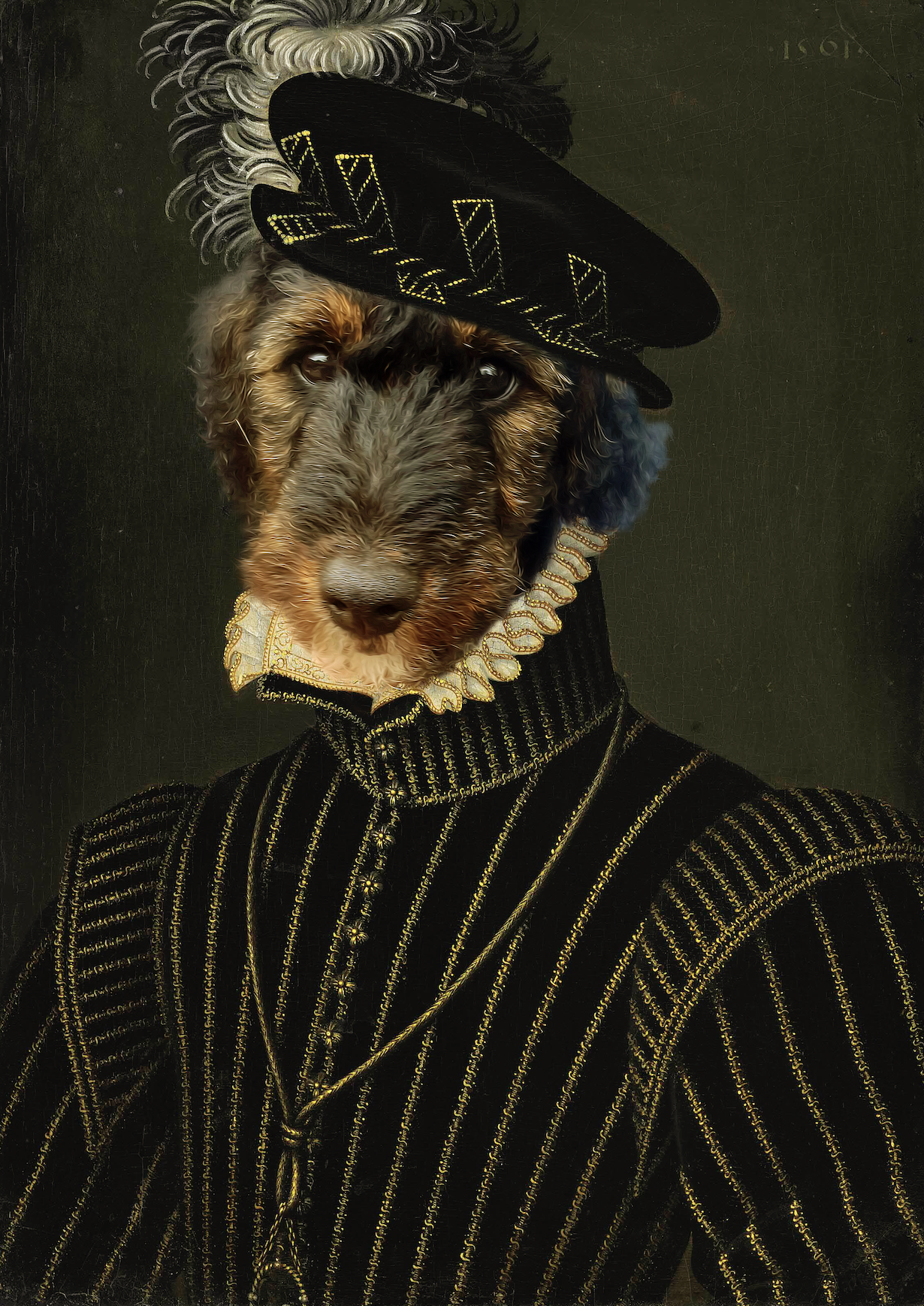 Prince Royal pet portrait