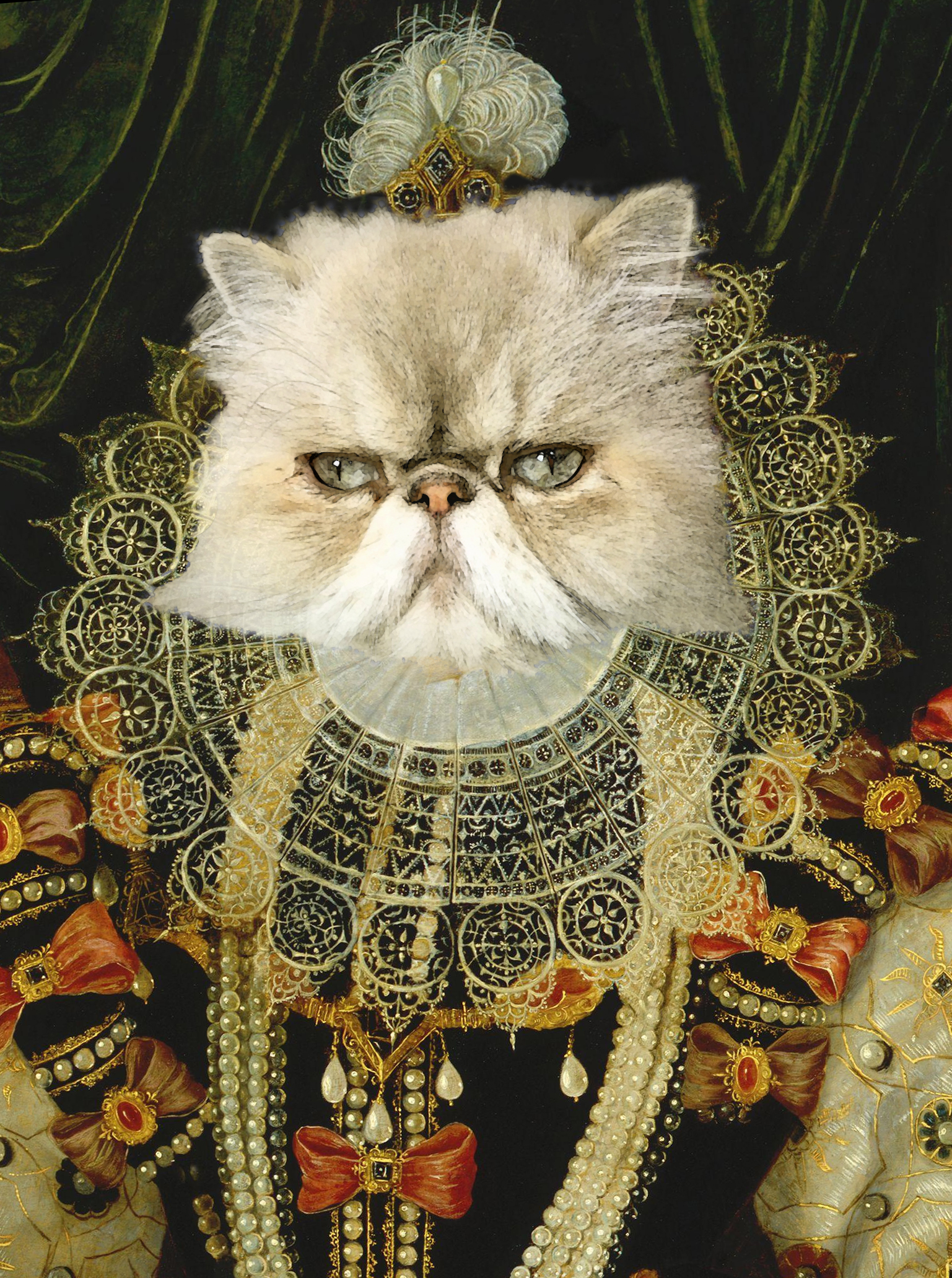 Queen Royal Pet Portrait