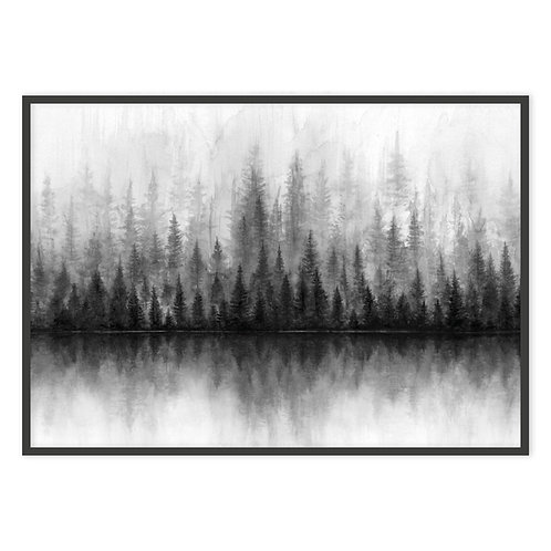 FOREST BLACK & WHITE II | PRINT