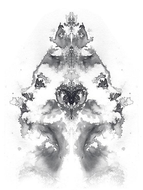 Faces V | print