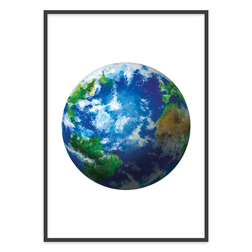 PLANET EARTH | PRINT