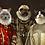 Thumbnail: ROYAL PET PORTRAIT 4 PETS | PRINT CANVAS