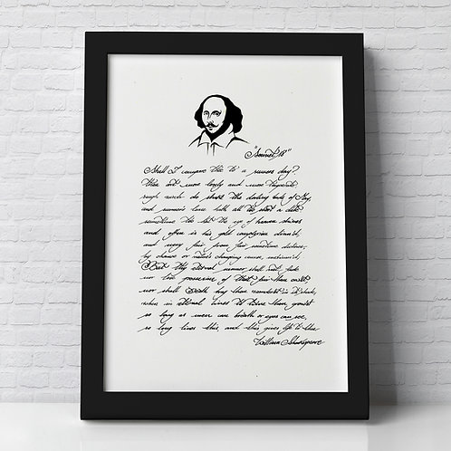 WILLIAM SHAKESPEARE | SONNET 18