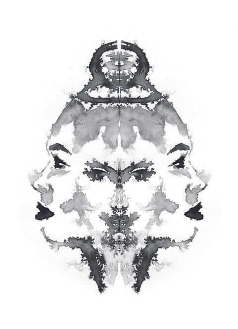 Faces IV   print