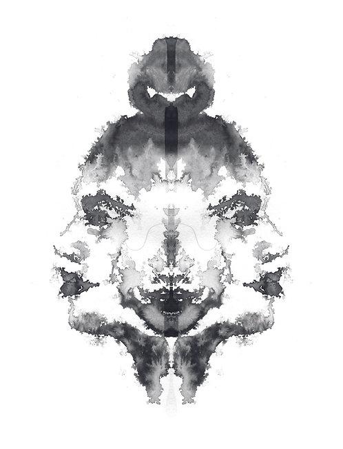 Faces VIII | print