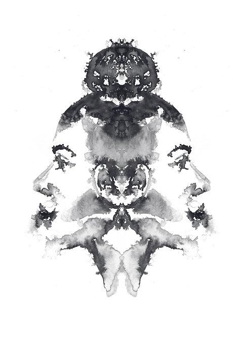 Faces I | print