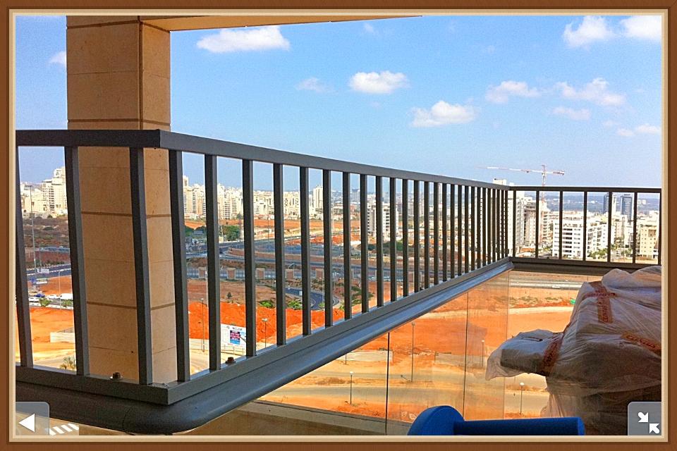 הגבהת מעקה למרפסת
