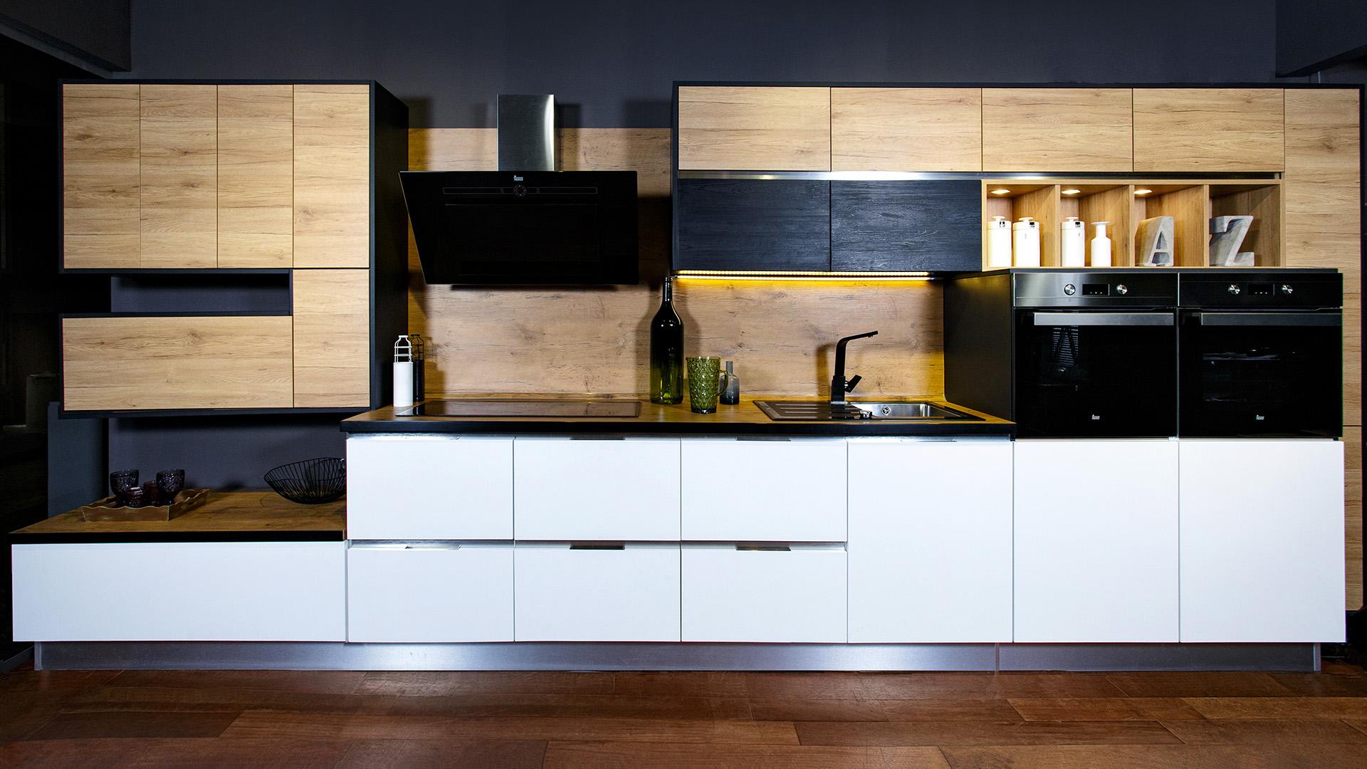 Съемка кухонной мебели MEBEL Milano