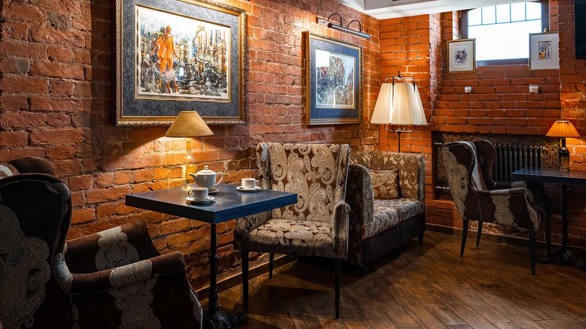 Интерьер ресторана Whisky Rooms