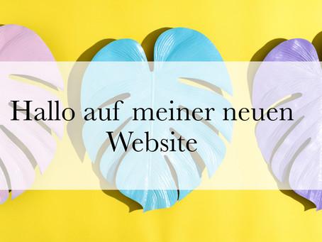 Hallo auf meiner neuen Website