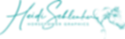 Heidi Schlenker Horsepower Graphics Logo