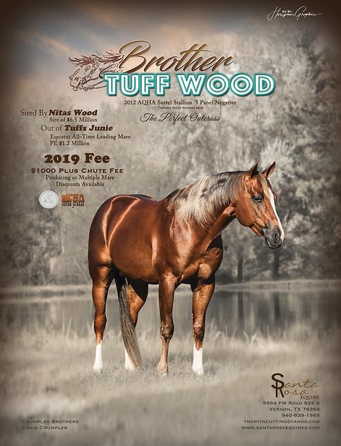 Brother Tuff Wood 2019 Season Ad Final R